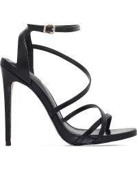 Carvela Kurt Geiger - Georgia Strappy Leather Sandals - Lyst