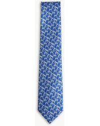 Ferragamo - Horse Print Tie - Lyst