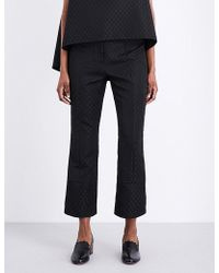 Erdem - Verity Jacquard Trousers - Lyst