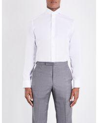 Eton of Sweden - Slim-fit Single-cuff Cotton-twill Shirt - Lyst