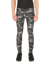 Björn Borg - Camouflage-print Jersey Tights - Lyst