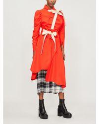 Vivienne Westwood - Tramp Self-tie Wool-blend Coat - Lyst