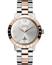 Vivienne Westwood - Vv152rssl Stainless Steel And Pvd Rose Gold-plated Watch - Lyst