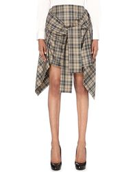 Vivienne Westwood Anglomania - Hope Wool Skirt - Lyst