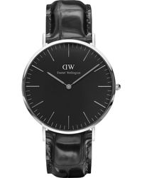 Daniel Wellington - Classic York Stainless Steel Watch - Lyst