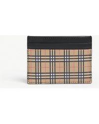 Burberry - Sandon Leather Card Holder - Lyst