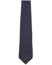 Corneliani - Dotted Silk Tie - Lyst