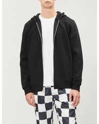 Stussy - Graphic Logo-back Cotton-jersey Hoody - Lyst