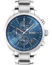 BOSS - 1513478 Grand Prix Stainless Steel Watch - Lyst