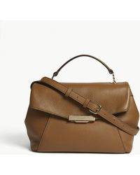 Sandro - Yza Leather Shoulder Bag - Lyst