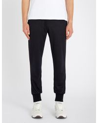 Paul Smith - Relaxed-fit Tapered Wool Jogging Bottoms - Lyst