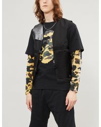 A Bathing Ape - Camouflage Logo-graphic Cotton-jersey T-shirt - Lyst