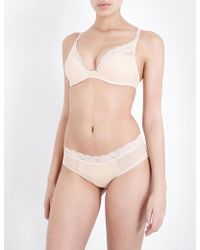 Passionata | Brooklyn Tulle And Floral-lace Plunge Bra | Lyst