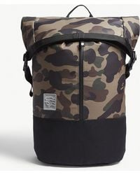 A Bathing Ape - 1st Camo Roll Backpack - Lyst