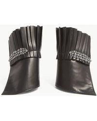 CATHERINE OSTI - Hortense Leather Cuffs - Lyst