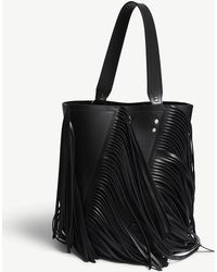 Proenza Schouler - Hex Medium Leather Fringed Shoulder Bag - Lyst