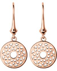 Links of London - Timeless 18ct Rose-gold Earrings - Lyst