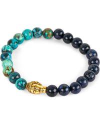 Nialaya - Budda Head Necklace - Lyst