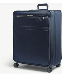 Briggs & Riley - Navy Blue Baseline Xl Expandable Suitcase - Lyst