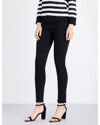 AG Jeans - The Farrah Super-skinny Mid-rise Jeans - Lyst