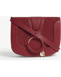 See By Chloé   Hoop Leather Saddle Bag   Lyst