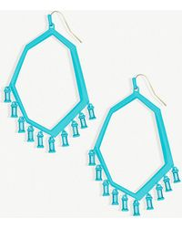 Kendra Scott - Thomas Glass And Matte-plated Earrings - Lyst