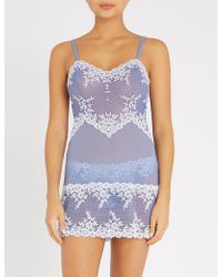 Wacoal - Embrace Lace Stretch-lace Chemise - Lyst