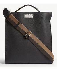 Fendi - Peekaboo Grained Leather Tote - Lyst