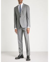 HUGO | Slim-fit Wool Suit | Lyst