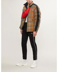 Burberry - Reversible Checked Shell-down Puffer Jacket - Lyst