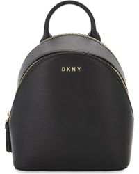 DKNY - Bryant Park Leather Cross-body Backpack - Lyst