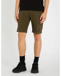 The Kooples - Drawstring Cotton Shorts - Lyst