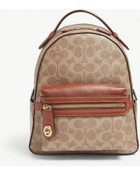 COACH - Campus Glovetanned Leather Backpack - Lyst
