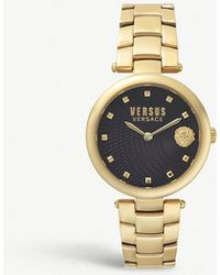 Versus - Buffle Bay Gold-plated Stainless Steel Watch - Lyst