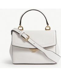 MICHAEL Michael Kors - Michael Kors Ladies Optic White Timeless Ava Extra Leather Cross-body Bag - Lyst