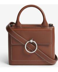 Claudie Pierlot - Small Saddle Handbag - Lyst