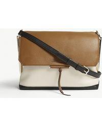 Sandro | Bia Grained Leather Shoulder Bag | Lyst