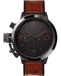 U-Boat - 7094 Flightdeck Black Ceramic Watch - Lyst