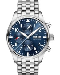 Iwc - Iw377717 Pilot Automatic Stainless Steel Watch - Lyst