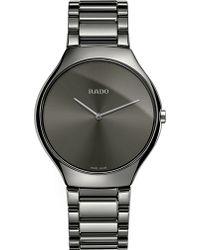 Rado - R27955122 True Thinline Ceramic Watch - Lyst