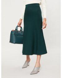 Gabriela Hearst - A-line Midi Skirt - Lyst