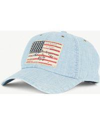 Polo Ralph Lauren - American-flag Denim Cap - Lyst