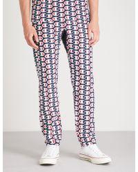 Champion - Logo-print Cotton-jersey Trousers - Lyst