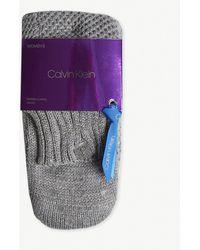 Calvin Klein - Holiday Luxury Sparkle Knitted Socks - Lyst