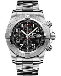 Breitling - A1337111/bc28 168a Super Avenger Ii Stainless Steel Chronograph Watch - Lyst
