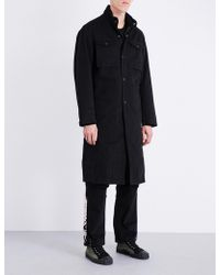 Maharishi - Stand-collar Denim Coat - Lyst