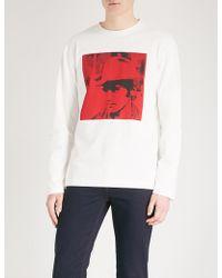 CALVIN KLEIN 205W39NYC - Andy Warhol Print Cotton-jersey Sweatshirt - Lyst