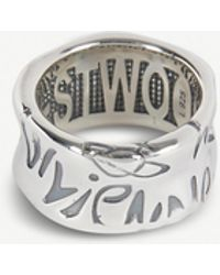 Vivienne Westwood - Bristol Sterling Silver Ring - Lyst
