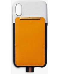 Chaos - Card Holder Leather Iphone Xs Max Case - Lyst