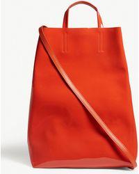 cef0af7a3170 Acne Studios - Baker Medium Patent Leather Tote - Lyst
